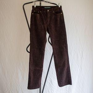 Ralph Lauren Brown Corduroy Pants Size 4